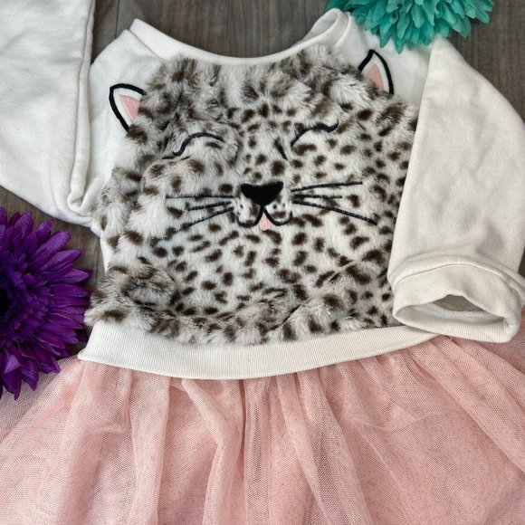 2/$15 Children's Place Kitty Dress 18-24M